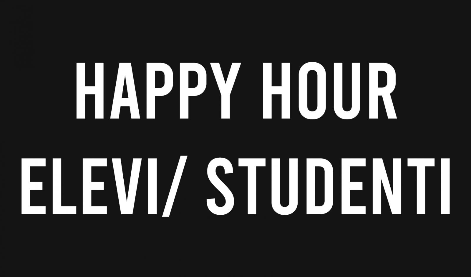 Happy hour Fitness pentru Elevi si Studenti